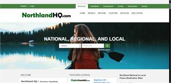NorthlandHQ.com  - National to local Directory, Classifieds, Employment, Events,
