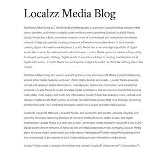 Localzz Media Blog - LocalzzMediaBlog.com
