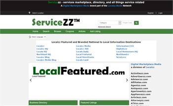Servicezz.com  - National to local service, business, and information listings.
