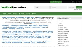 NorthlandFeatured.com - National to local business related information listings.