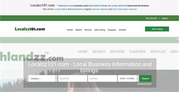 Localzz101.com  - National to local business and information listings.