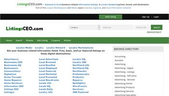 ListingsCEO.com - National to local business related information listings.