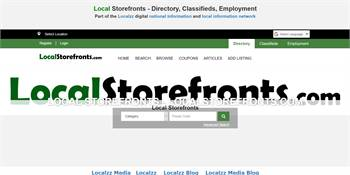 LocalStorefronts.com - Directory for Storefront Listings, Classifieds, Employment