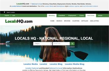 LocalsHQ.com  - National to local Directory, Classifieds, Employment, Events,