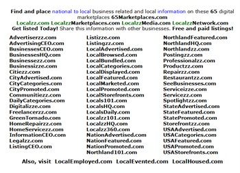 The Localzz Digital assets to build out for a massive marketplaces and media company:
